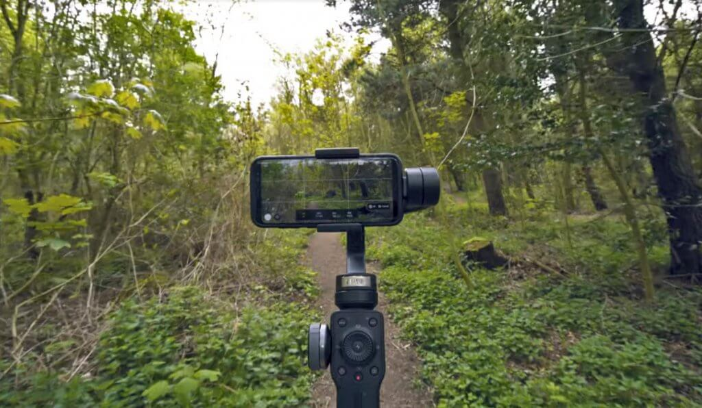 Zhiyun Smooth 4 in action