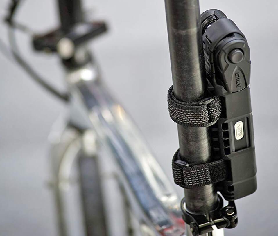 ABUS Bordo 6100-90 Folding Lock on bike