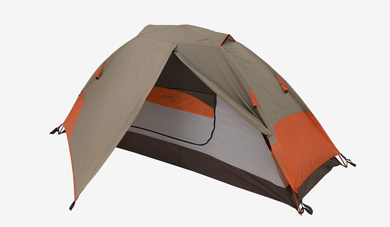 ALPS Mountaineering 1-Person Tent with tarp