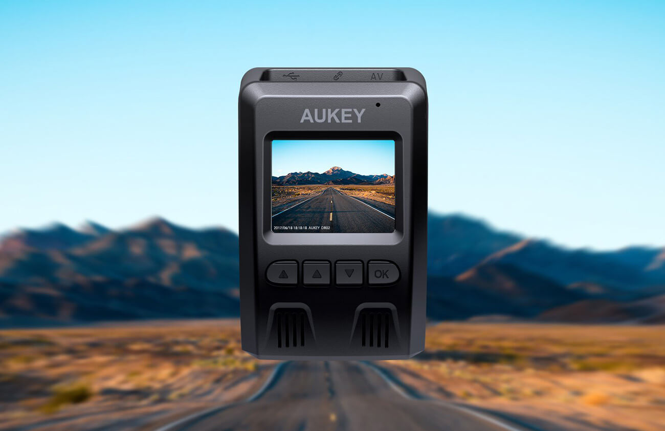 AUKEY DRO2 Dashboard Camera screen