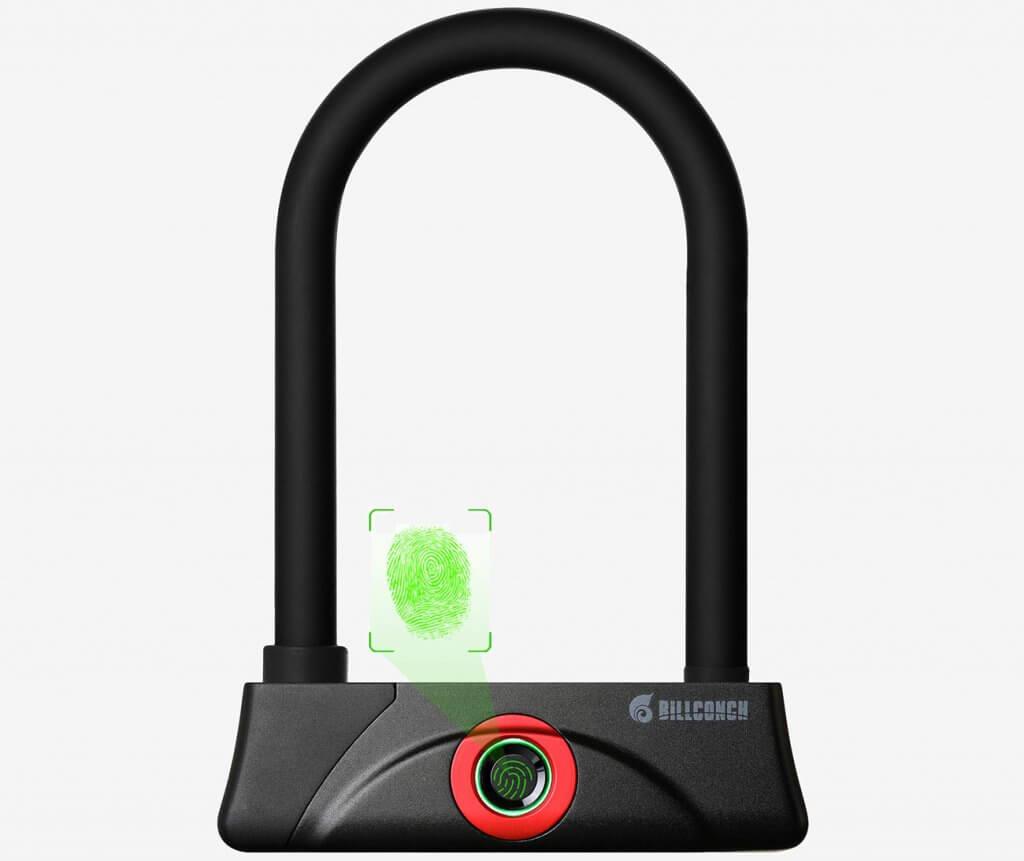 BILLCONCH U-Lock (Fingerprint)