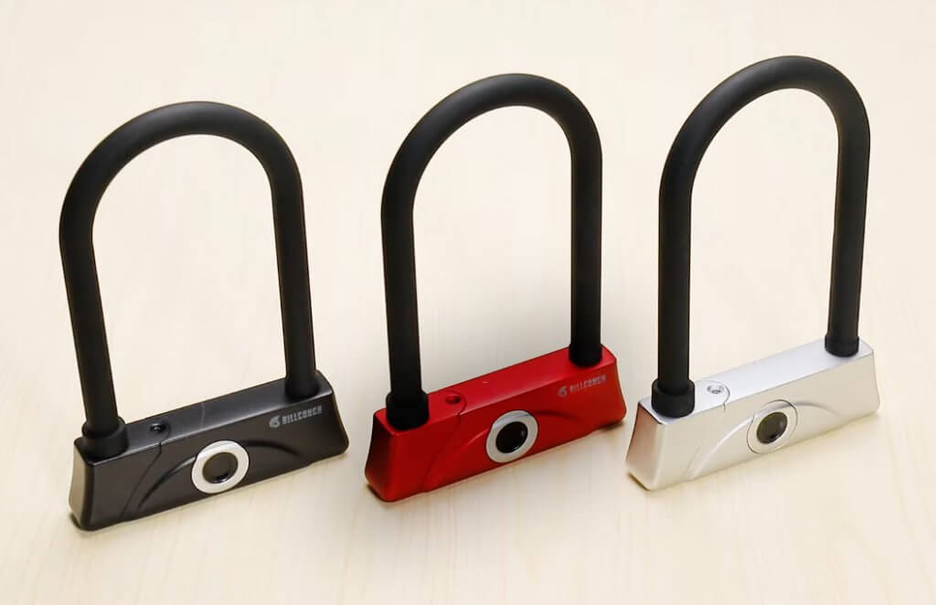 BILLCONCH U-Lock (Fingerprint) color options
