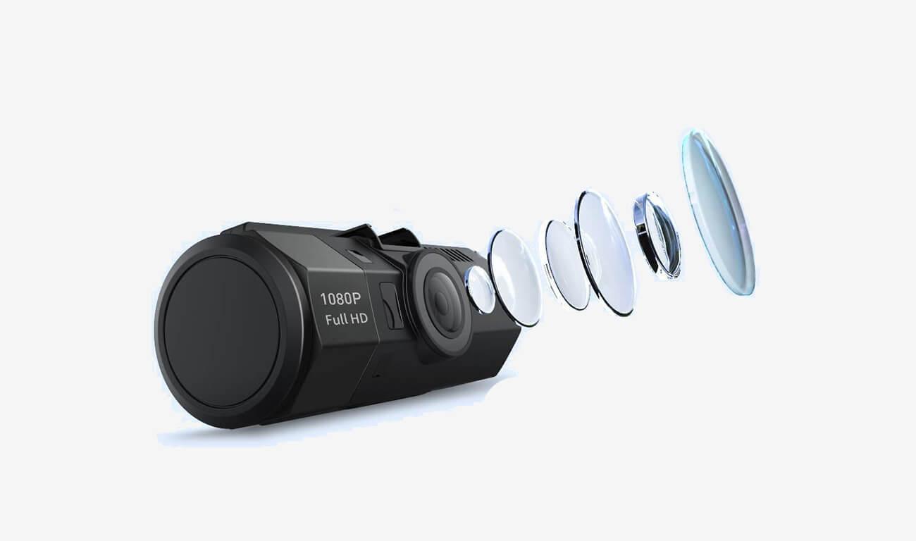 CROSSTOUR CR700 Dash Cam lens