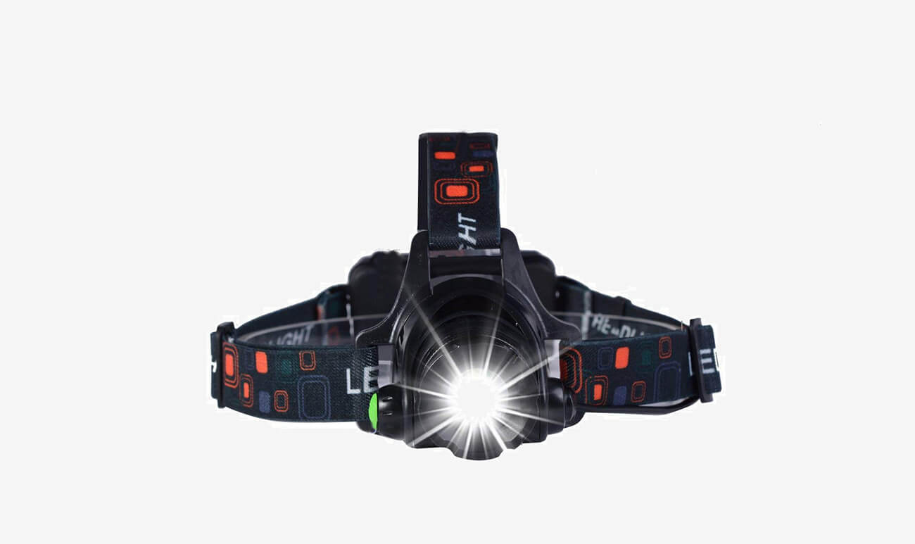 Cobiz 1-LED Durable Headlamp front