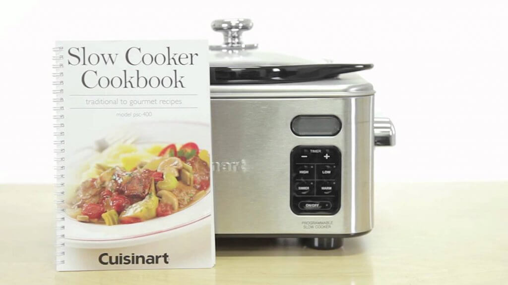 Cuisinart PSC-650 Slow Cooker next too cook book