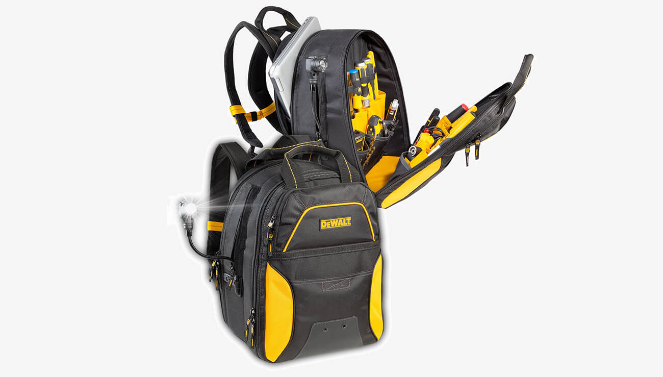 DEWALT DGC530 fully equipped