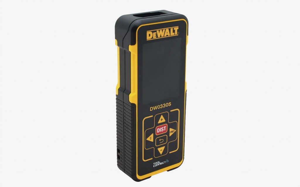 DEWALT Laser Measure display