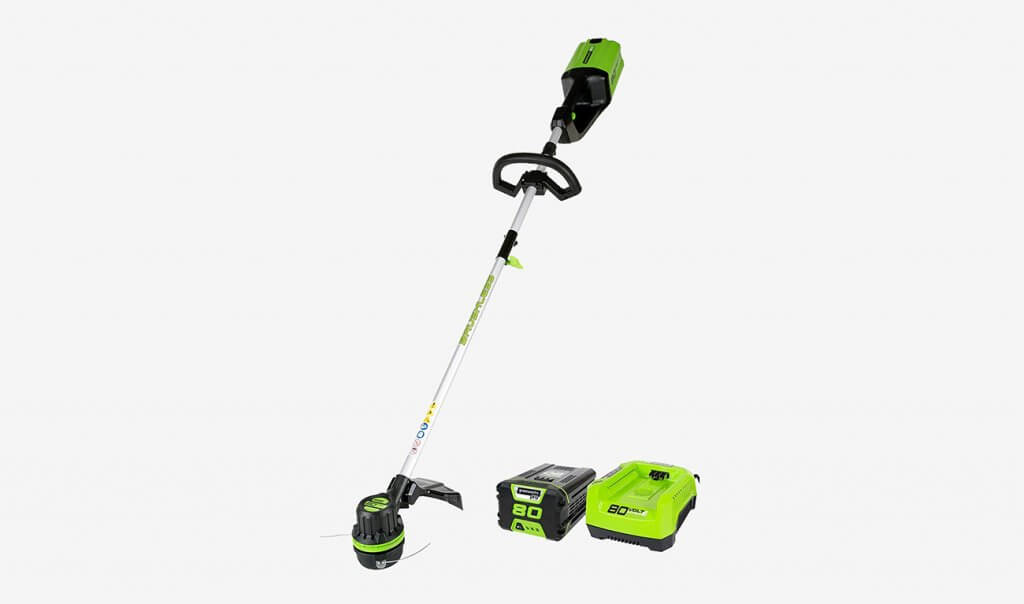 GreenWorks ST80L210 80V and batteries