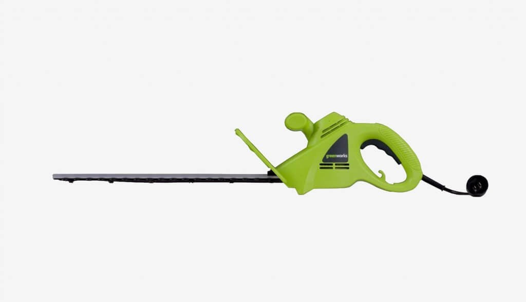 Greenworks 18-Inch Hedge Trimmer