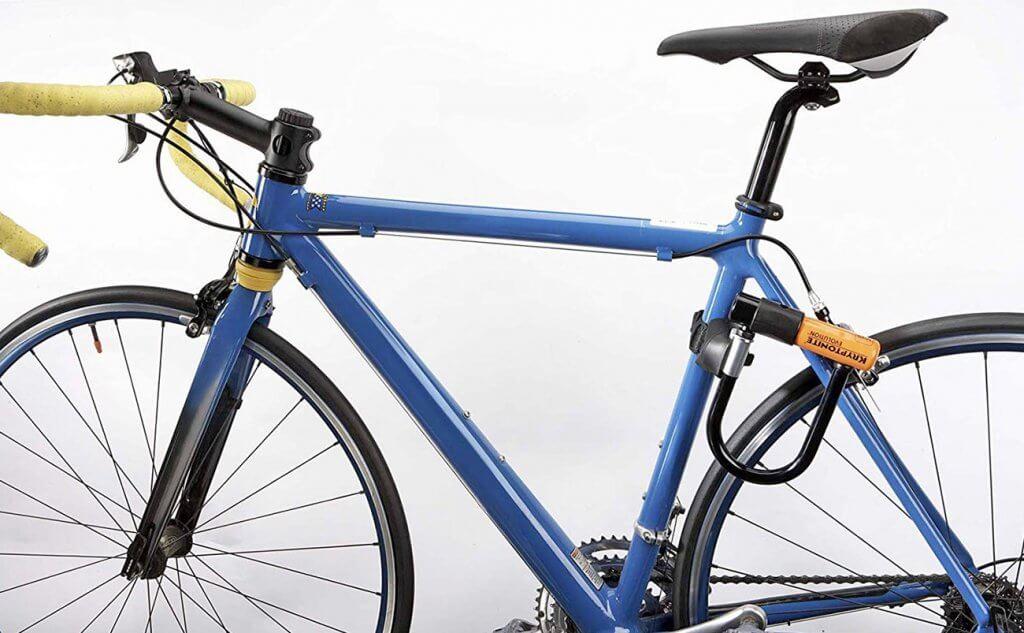 Kryptonite New York U-Lock on a bike