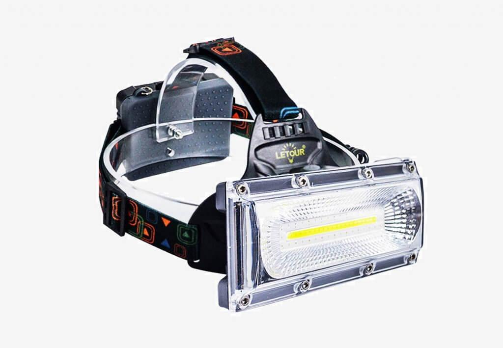 4 LETOUR COB Rechargeable Headlamp