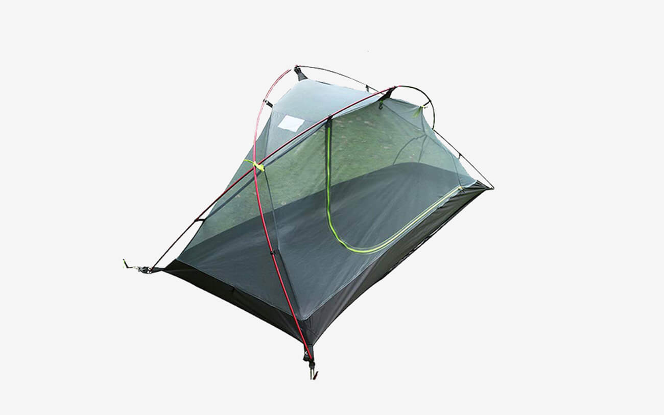 LUXE TEMPO 3.3LB 1 Person Backpacking Tent without cover