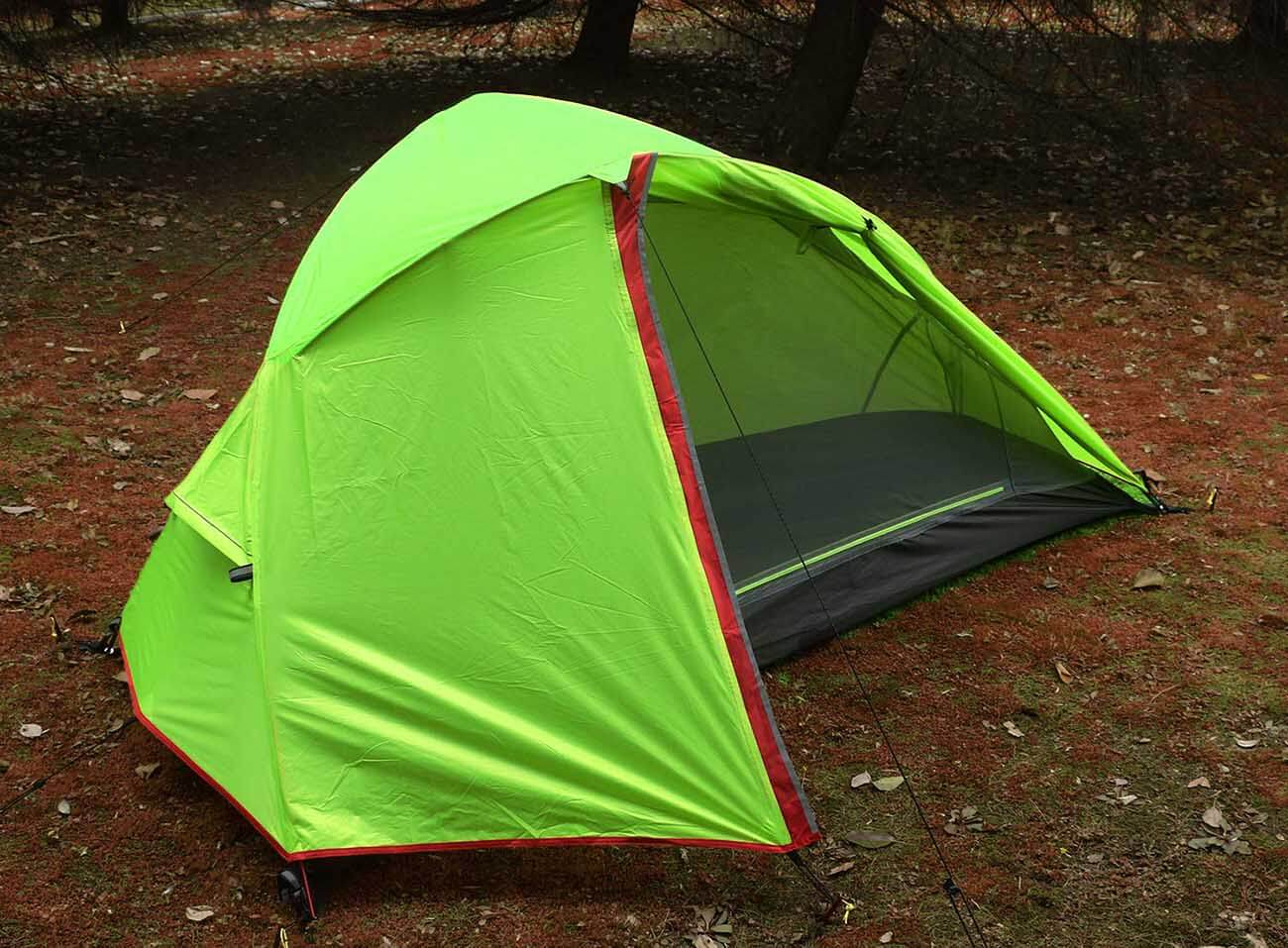 LUXE TEMPO 1 Person Tent in the woods