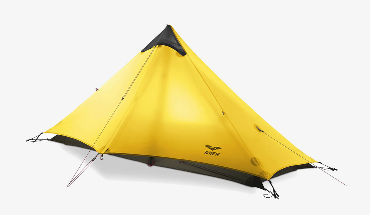 MIER Ulralight 3-Season Backpacking Tent for One