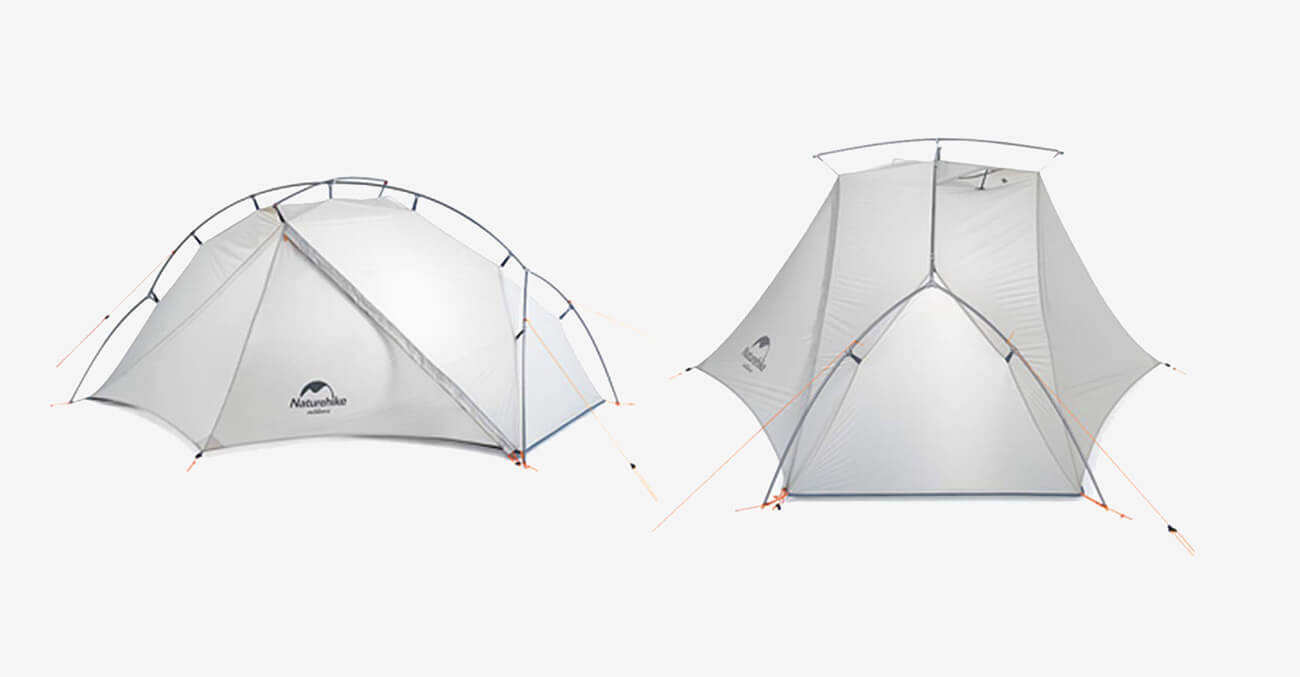 NATUREHIKE 1 Person Ultralight Backpacking Tent features and design