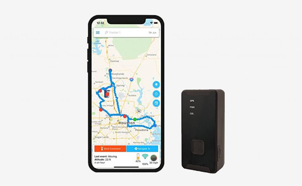 OPTIMUS 2.0 GPS Tracker and smartphone