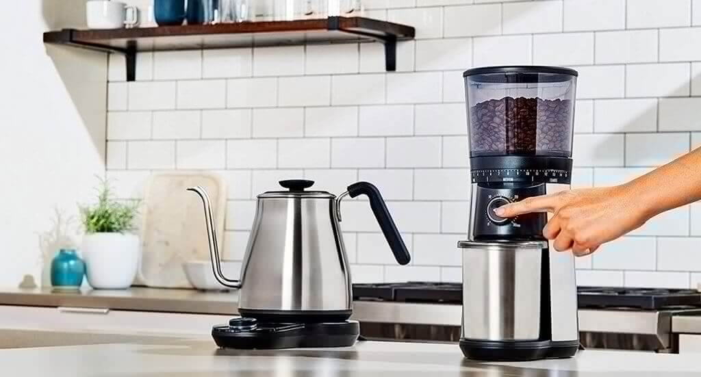 OXO BREW Pour-Over Kettle in the kitchen
