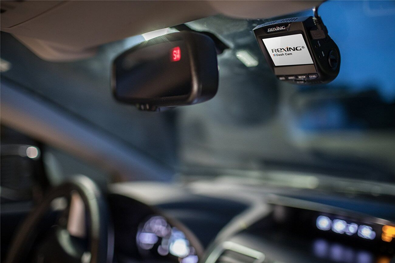 REXING V1 Wi-Fi Car Dash Cam video recorder