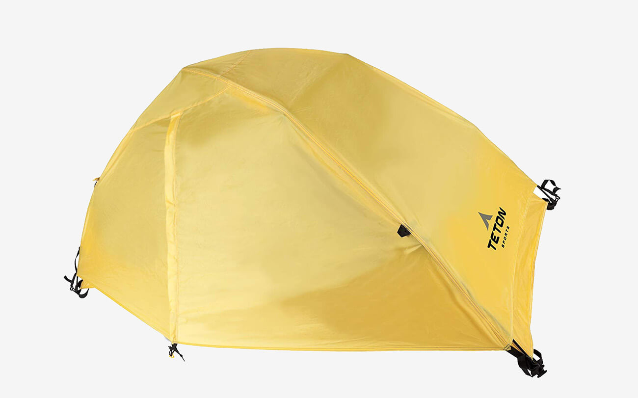 TETON Sports Outfitter XXL Quick Tent completely covered