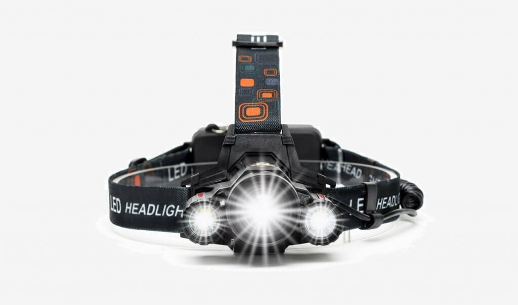 Cobiz Work LED Headlamp (LP006) front