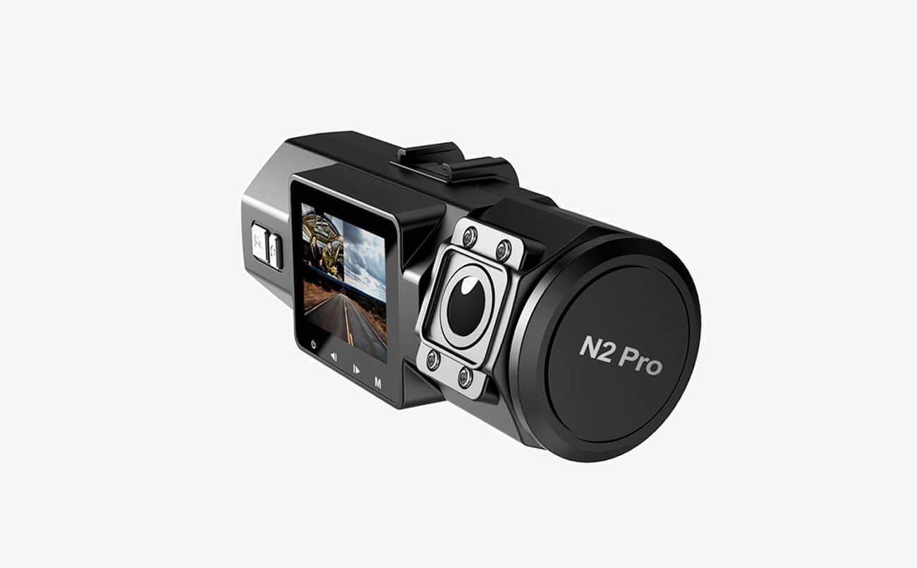 VANTRUE N2 Pro Uber Dual Dash Cam design