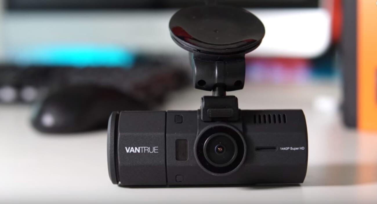 VANTRUE N2 Pro Uber Dual Dash Cam photo