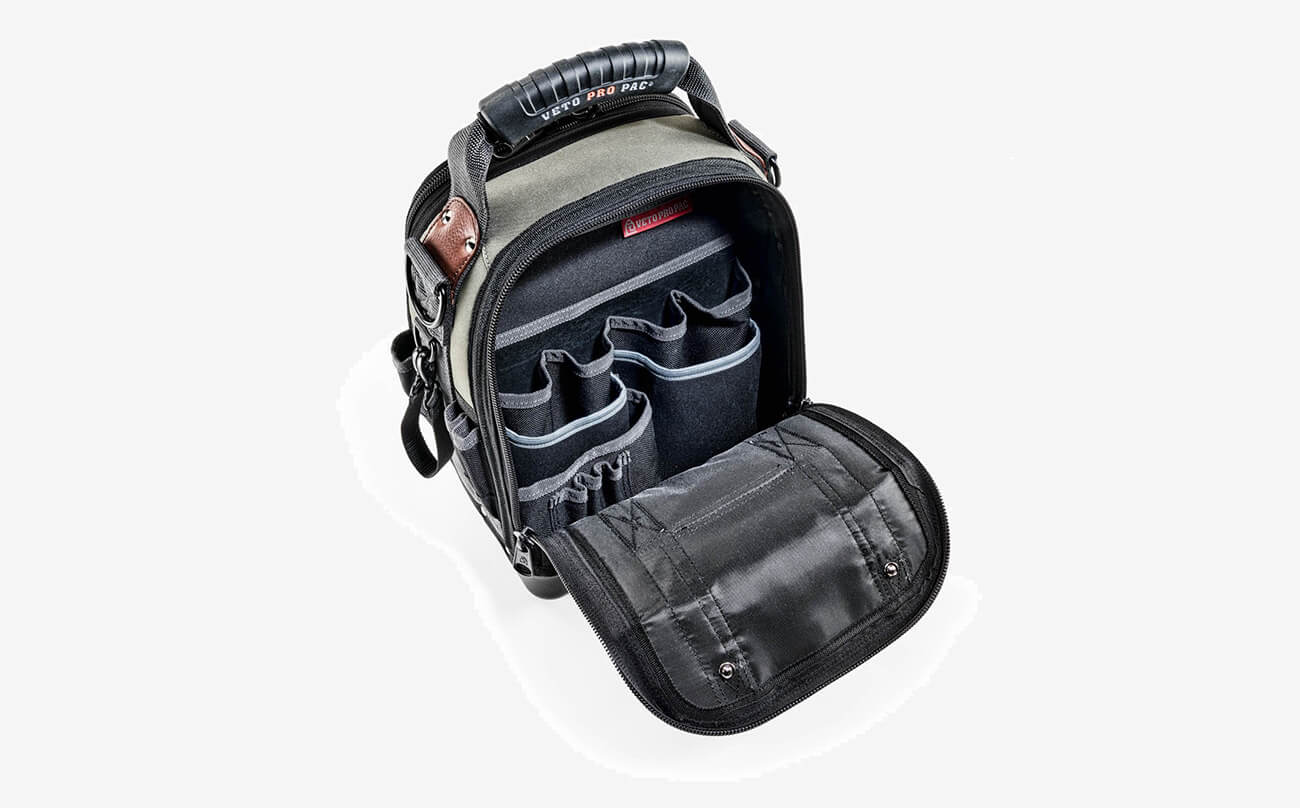 VETO PRO PAC TECH-MCT Backpack open view