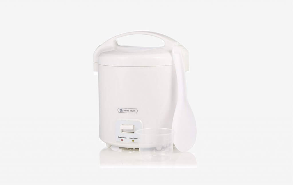 WHITE TIGER Mini Rice Cooker