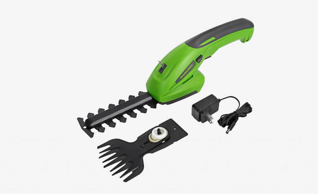 WORKPRO 2-in-1 Cordless Grass Shear and Hedge Trimmer
