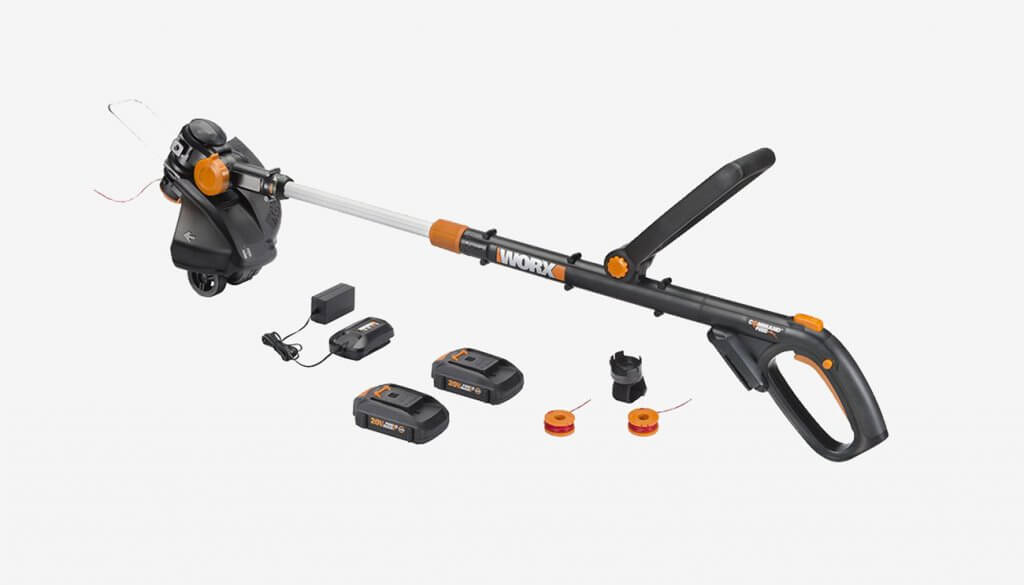 "WORX WG170 GT Revolution 20V 12"" and accessories"