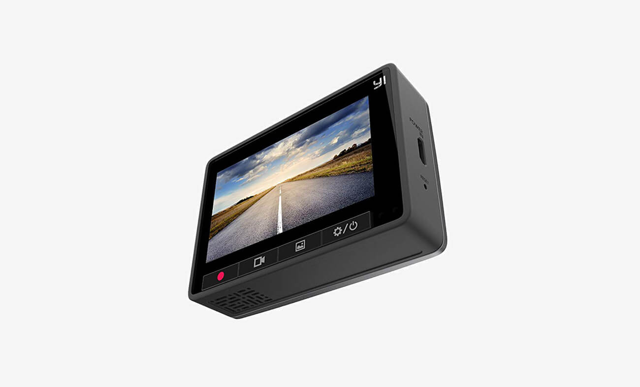 YI Smart Dash Cam screen