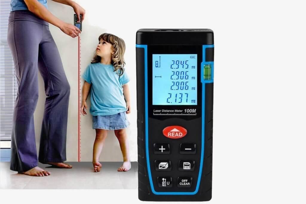 ieGeek Handheld Laster Distance Measure use case