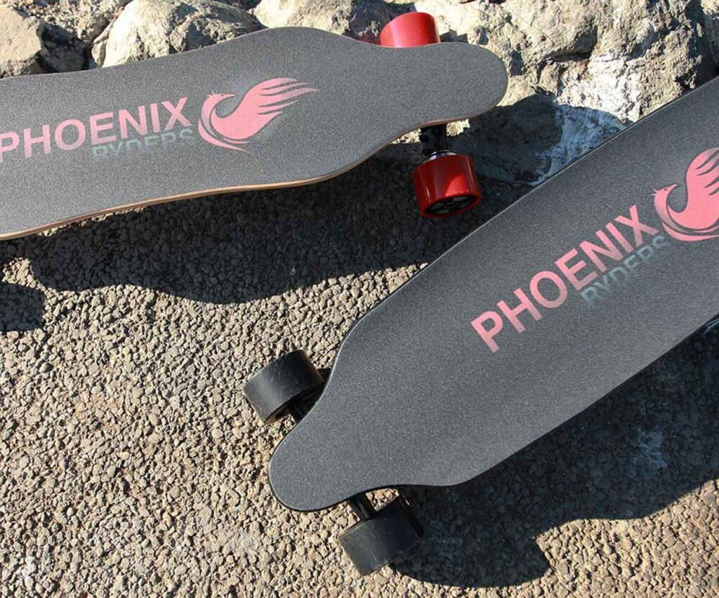ALOUETTE Phoenix Ryders Electric Longboard on the street