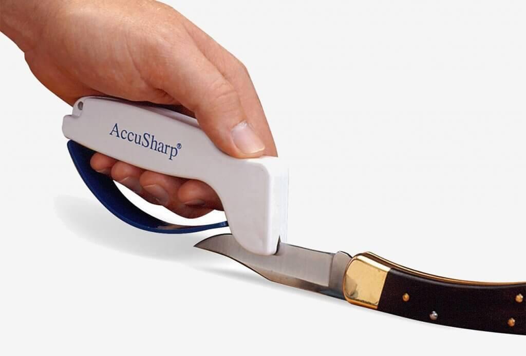 AccuSharp 001C on knife