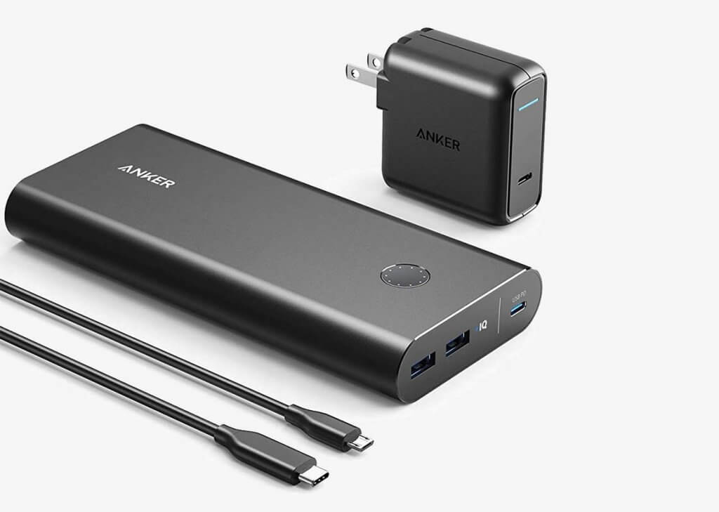 Anker PowerCore+ 26,800 PD with 30W Power Delivery Charger