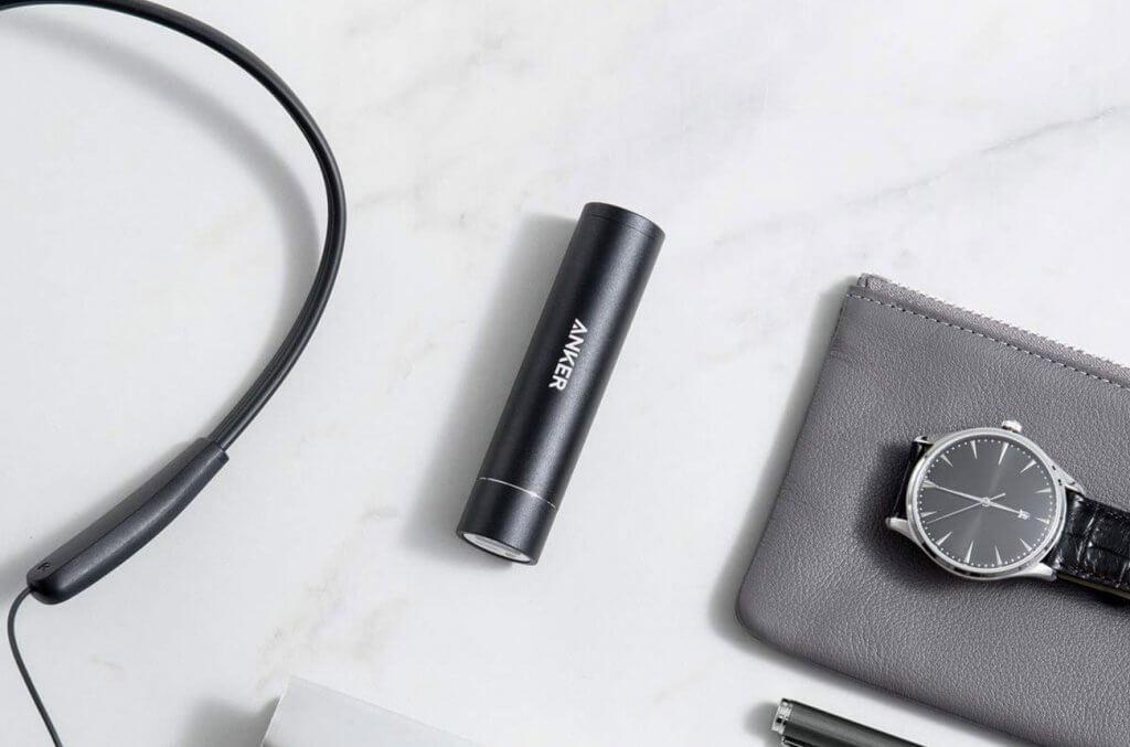 Anker PowerCore+ Mini and accessories
