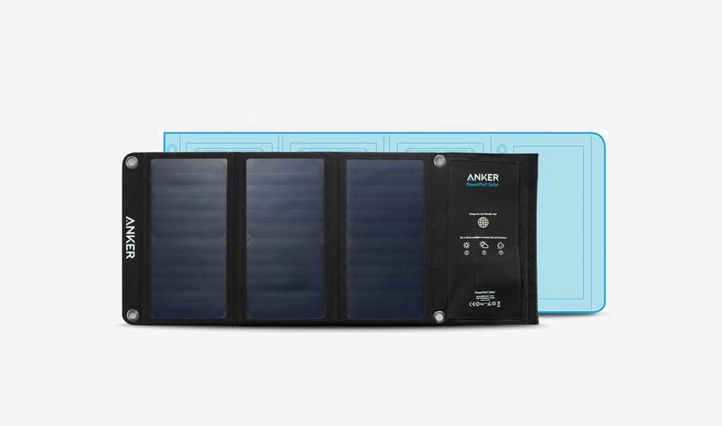 Anker PowerPort 21-Watt Solar Charger