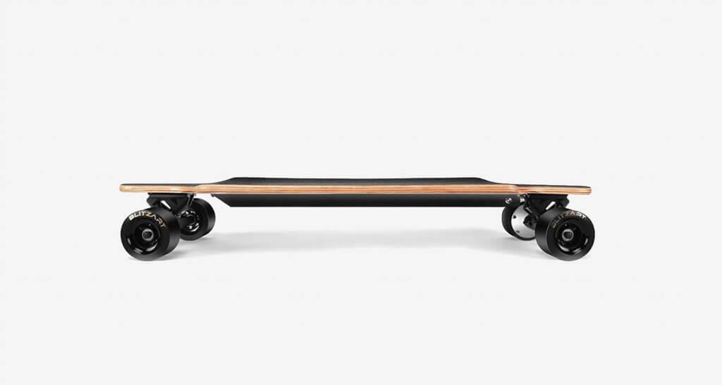 BLITZART Huracane Electric Longboard