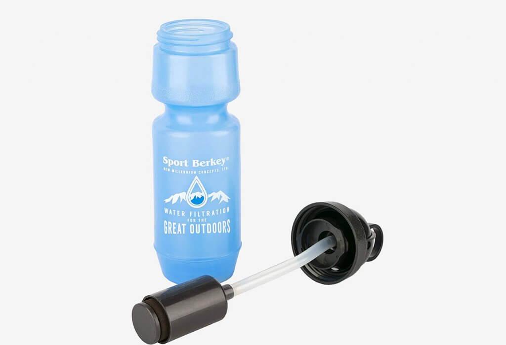 Open Berkey Sport Filtered Water Bottle