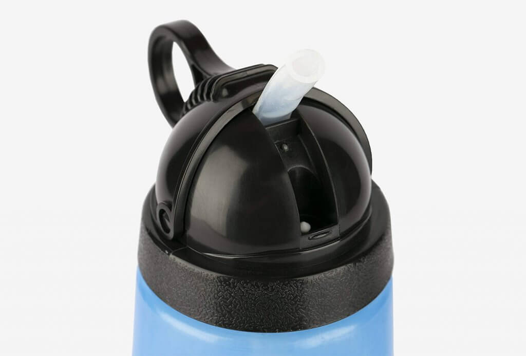 Berkey Sport Filtered Water Bottle close-up