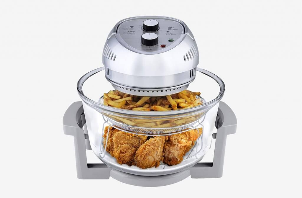 Big Boss Oil-less Air Fryer, 16 Quart High Capacity