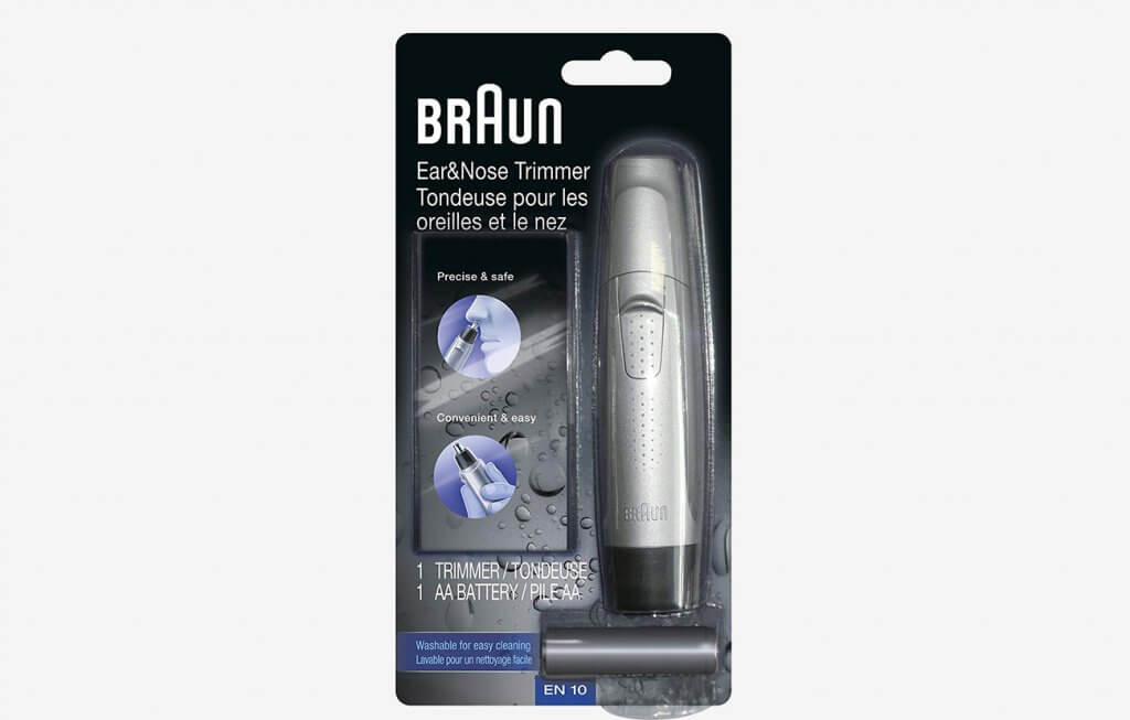 Braun Ear and Nose Hair Trimmer in box