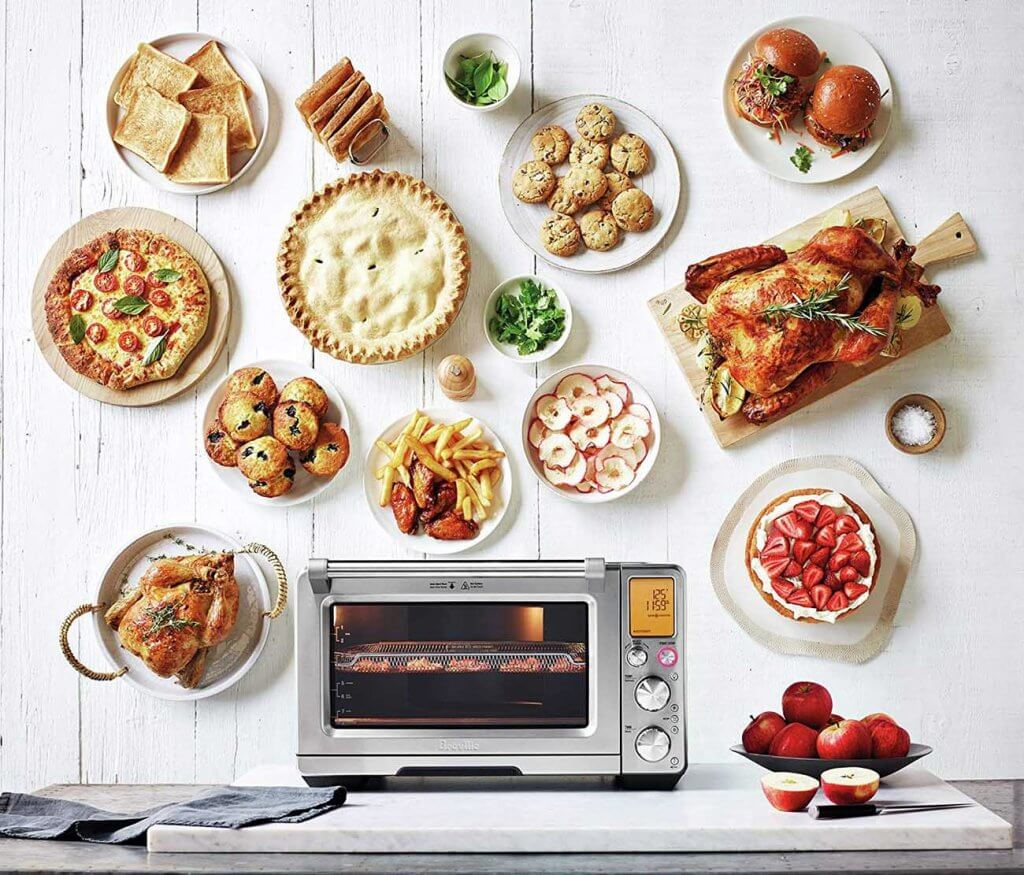 Food prepared by the Breville BOV900BSS