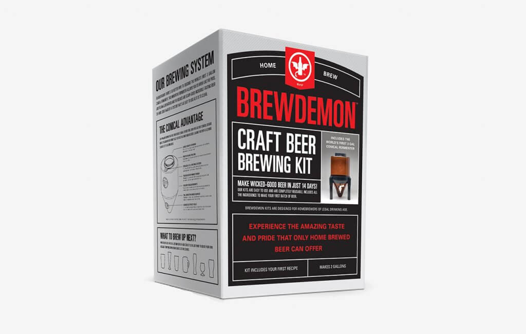 BrewDemon Signature Beer Kit Packaging