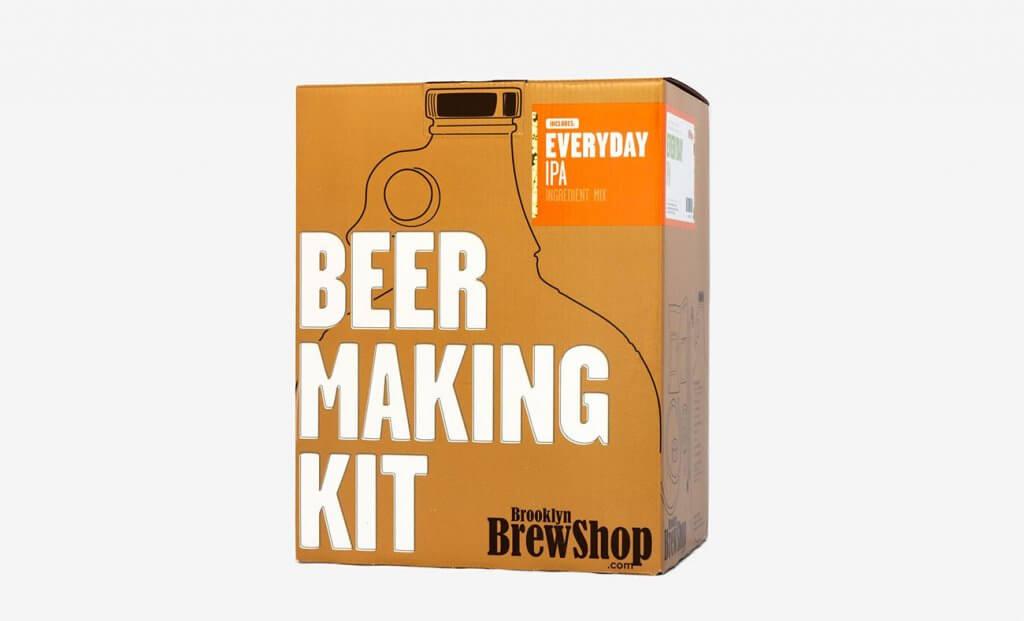 Brooklyn Brew Shop Everyday IPA Beer Making Kit Packaging