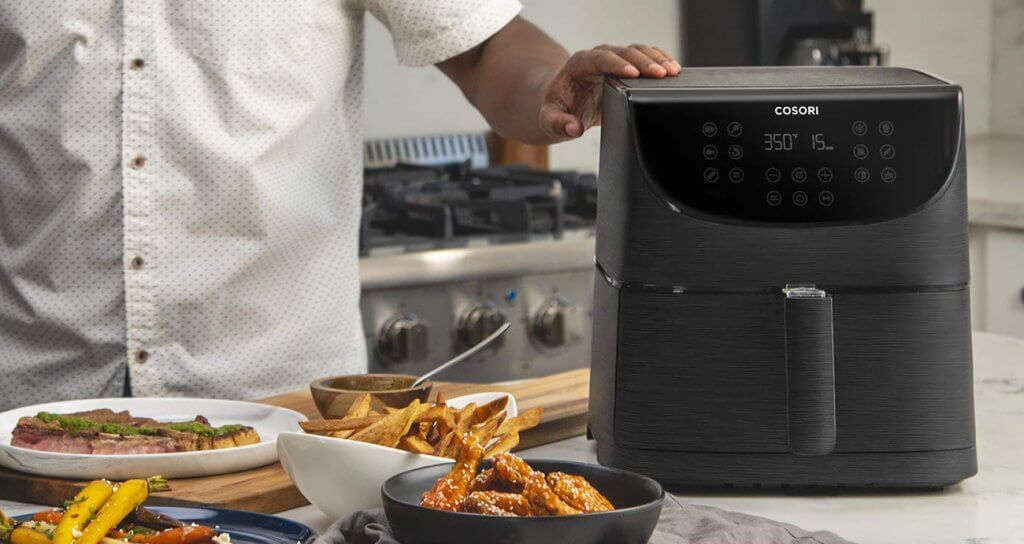 COSORI 3.7-Quart Air Fryer in the kitchen