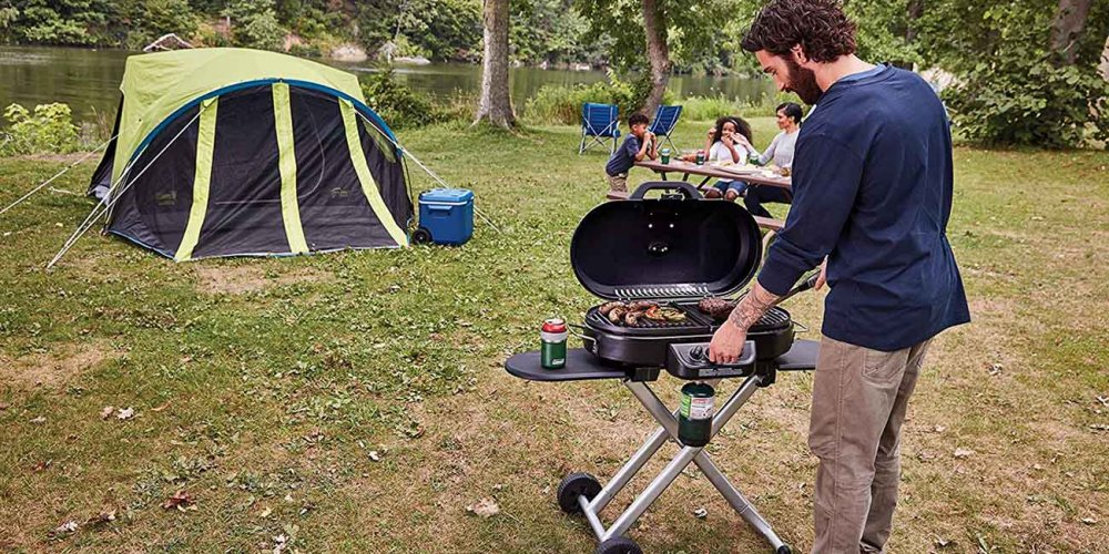 Camping Grill for the whole family