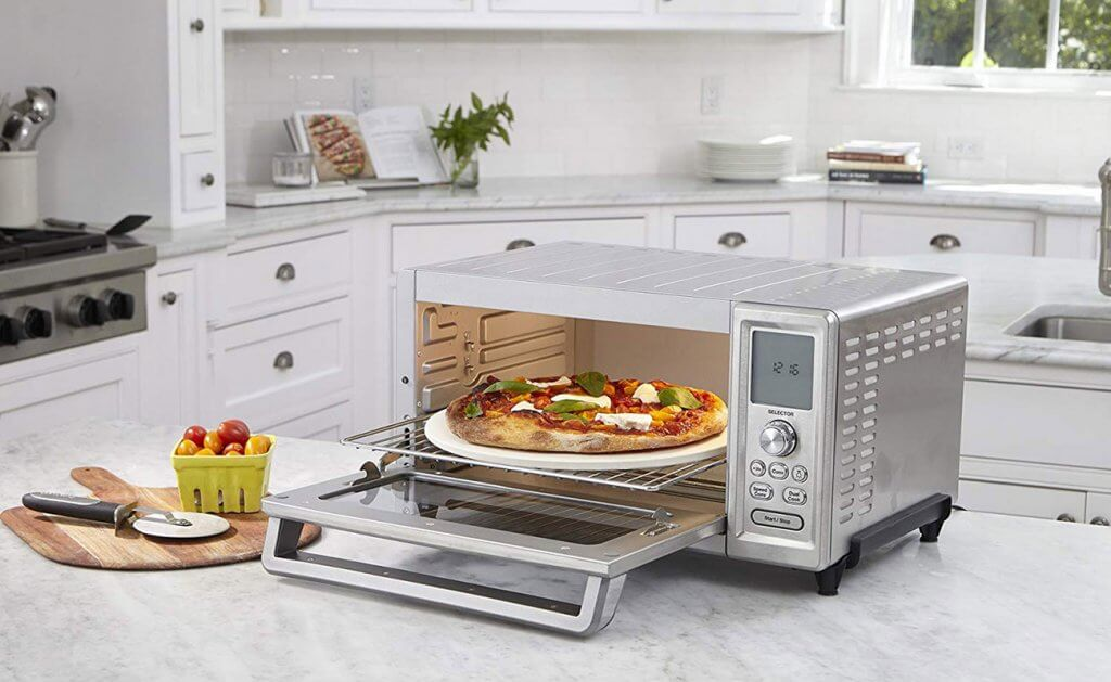 Cuisinart TOB-260N1 Chef's Convection Toaster Oven in the kitchen