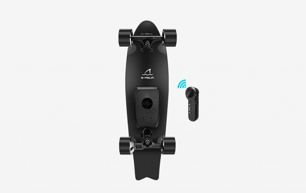 E-ASUM AS01 Electric Skateboard and remote