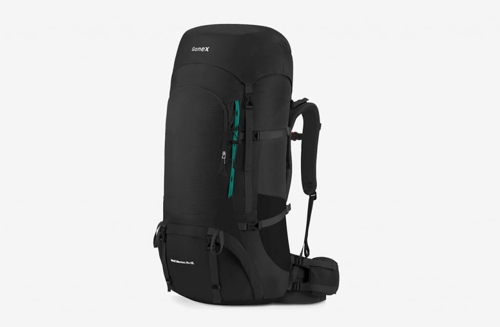 Gonex 70L80L Internal Frame Hiking Travel Backpack